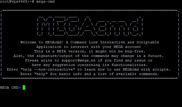 Utilizando MEGA em servidor Ubuntu 16 04 LTS pelo shell